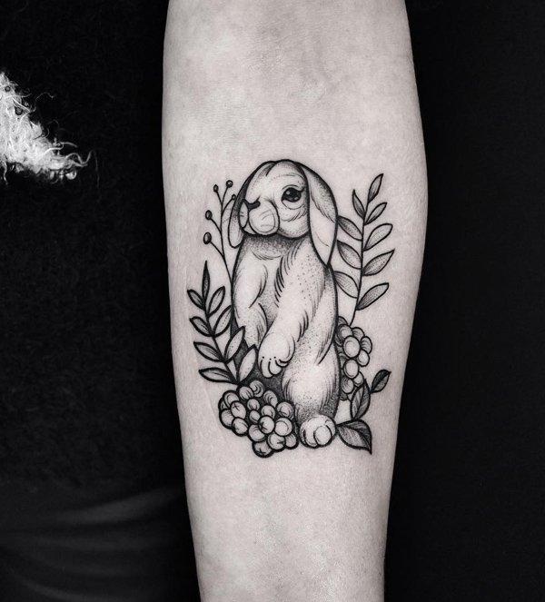 20+ Amazing Hand Rabbit Tattoo Ideas To Try