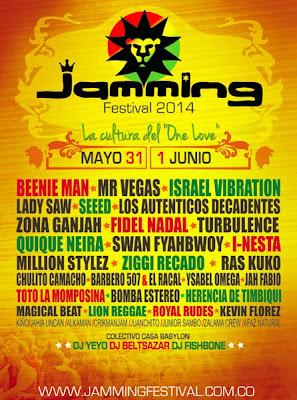 Poster JAMMING FESTIVAL