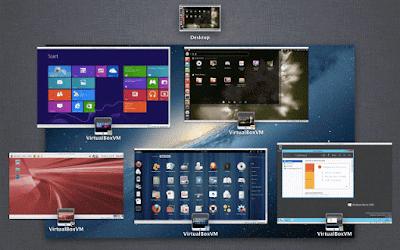 تحميل , برنامج , VirtualBox , أنظمة وهمية