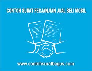 Gambar untuk Contoh Surat Perjanjian Jual Beli Mobil