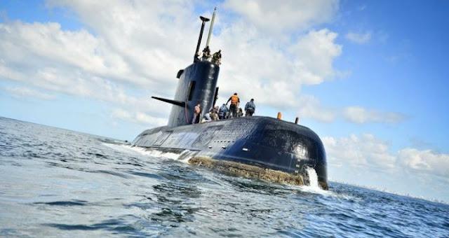 Armada argentina detecta llamadas fallidas desde el submarino desaparecido