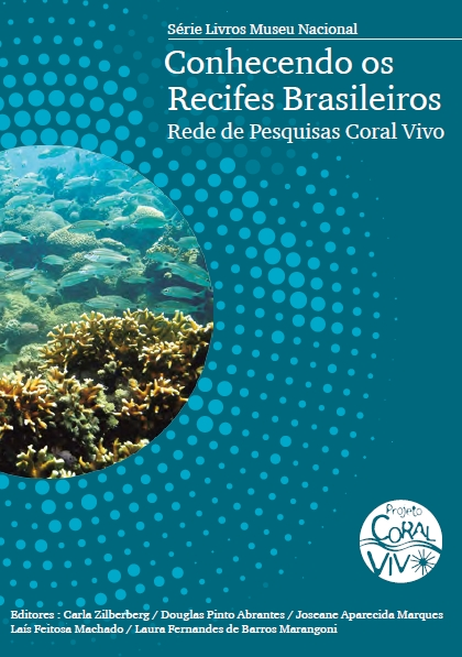 Capa do livro Conhecendo os recifes brasileiros do Coral Vivo
