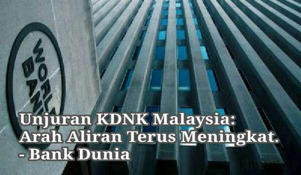 Unjuran KDNK Malaysia: Arah Aliran Terus Meningkat.