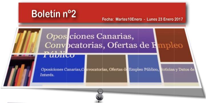 Oposiciones canarias convocatorias ofertas de empleo - Ofertas canarias enero ...