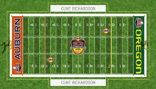auburn football bcs championship field 2011 2010 field