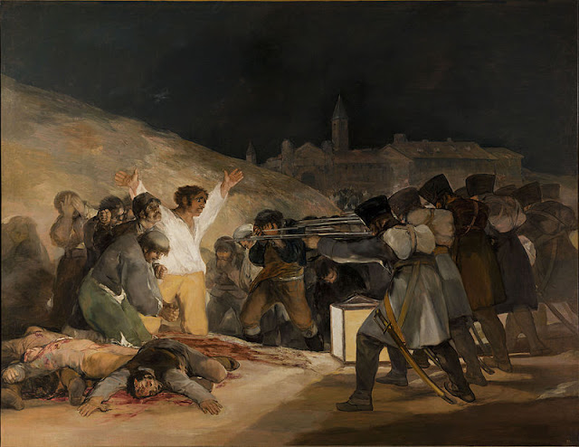 Francisco Goya, The Third of May, 1808_psartworks.in