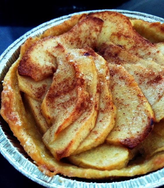 Sweet Kwisine, pommes, caramel beurre salé,tarte, cannelle