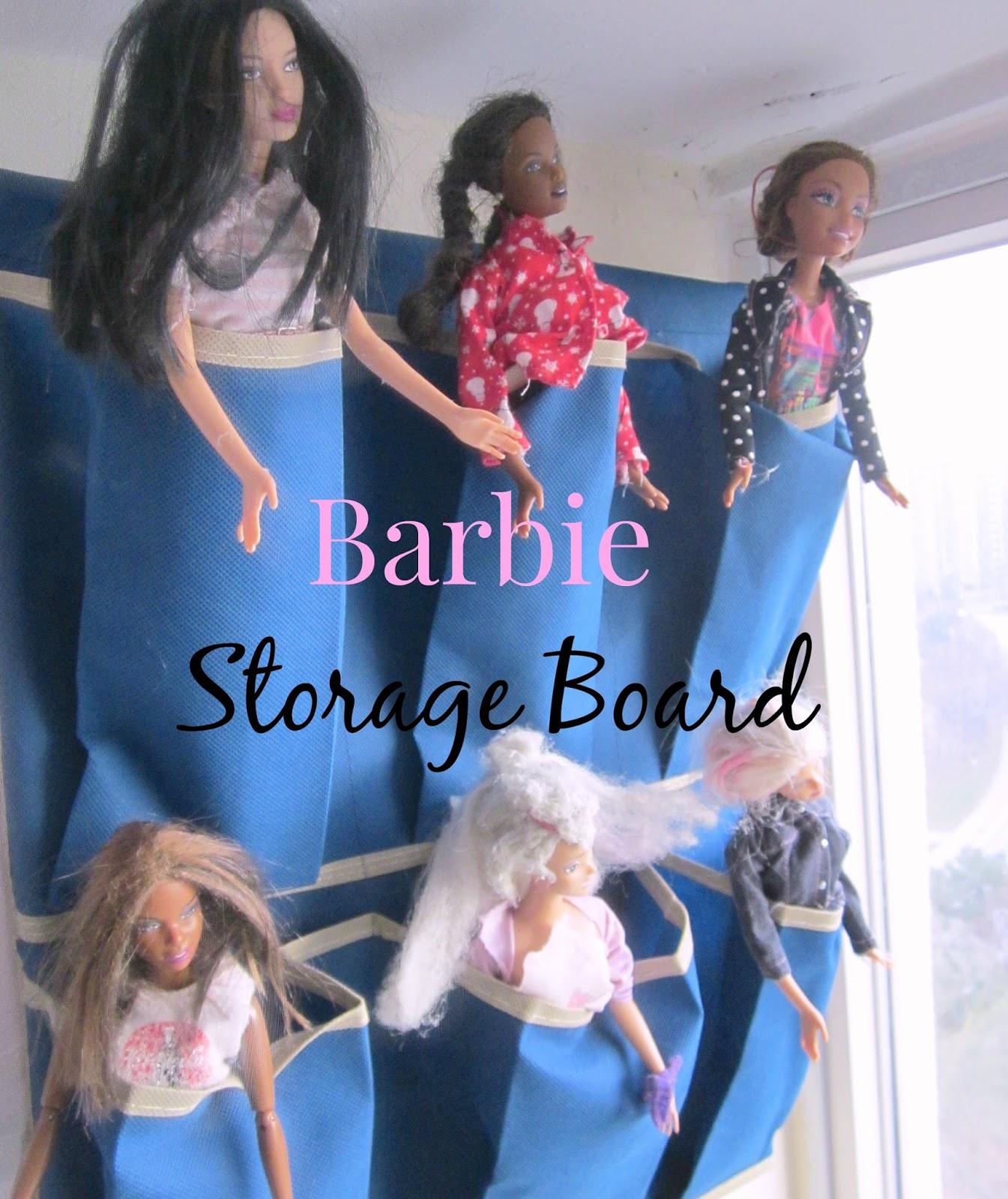 barbie storage board
