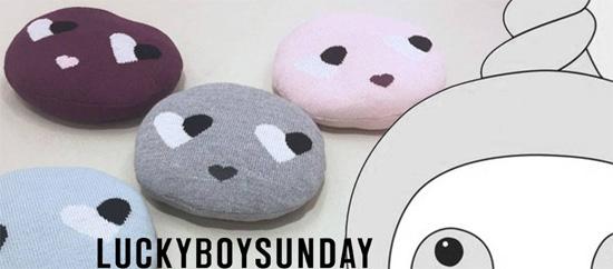 luckyboysunday pillow