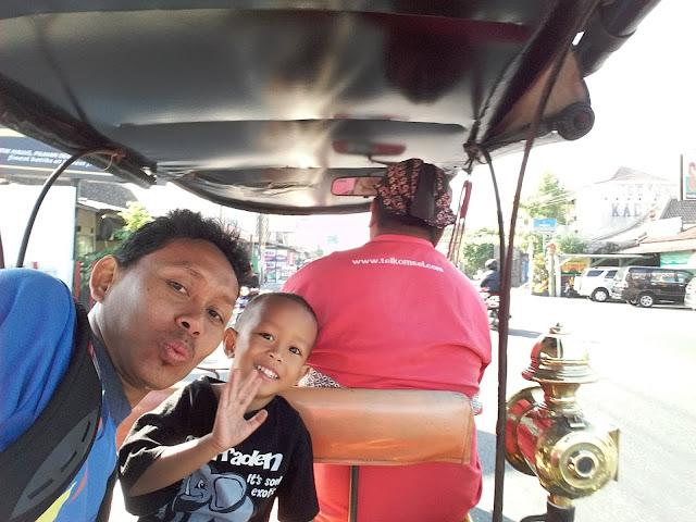 Liburan di Kota Jogja bersama anak tersayang
