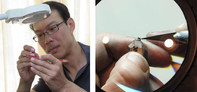 Процесс создания миниатюрной скульптуры тайским инженером Чжен Чю Ли (Chien Chu Lee) - DayDreamer Blog