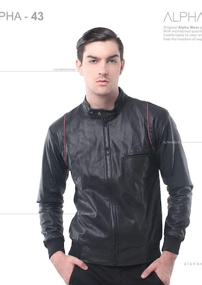 alphawear glamour leather jacket alpha43