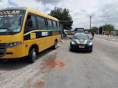 'Operação Transporte Escolar Seguro' constata irregularidades em ônibus escolares de 20 municípios da Paraíba