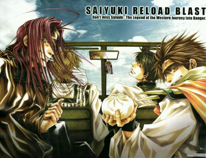 Saiyuuki%2BReload%2BBlast - Saiyuki Reload Blast (Episode 01) Subtitle Indonesia