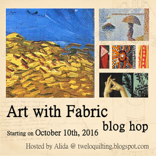 Art with Fabric Hop