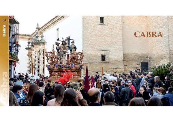 Programa, Horarios e Itinerarios Semana Santa Cabra (Córdoba) 2019
