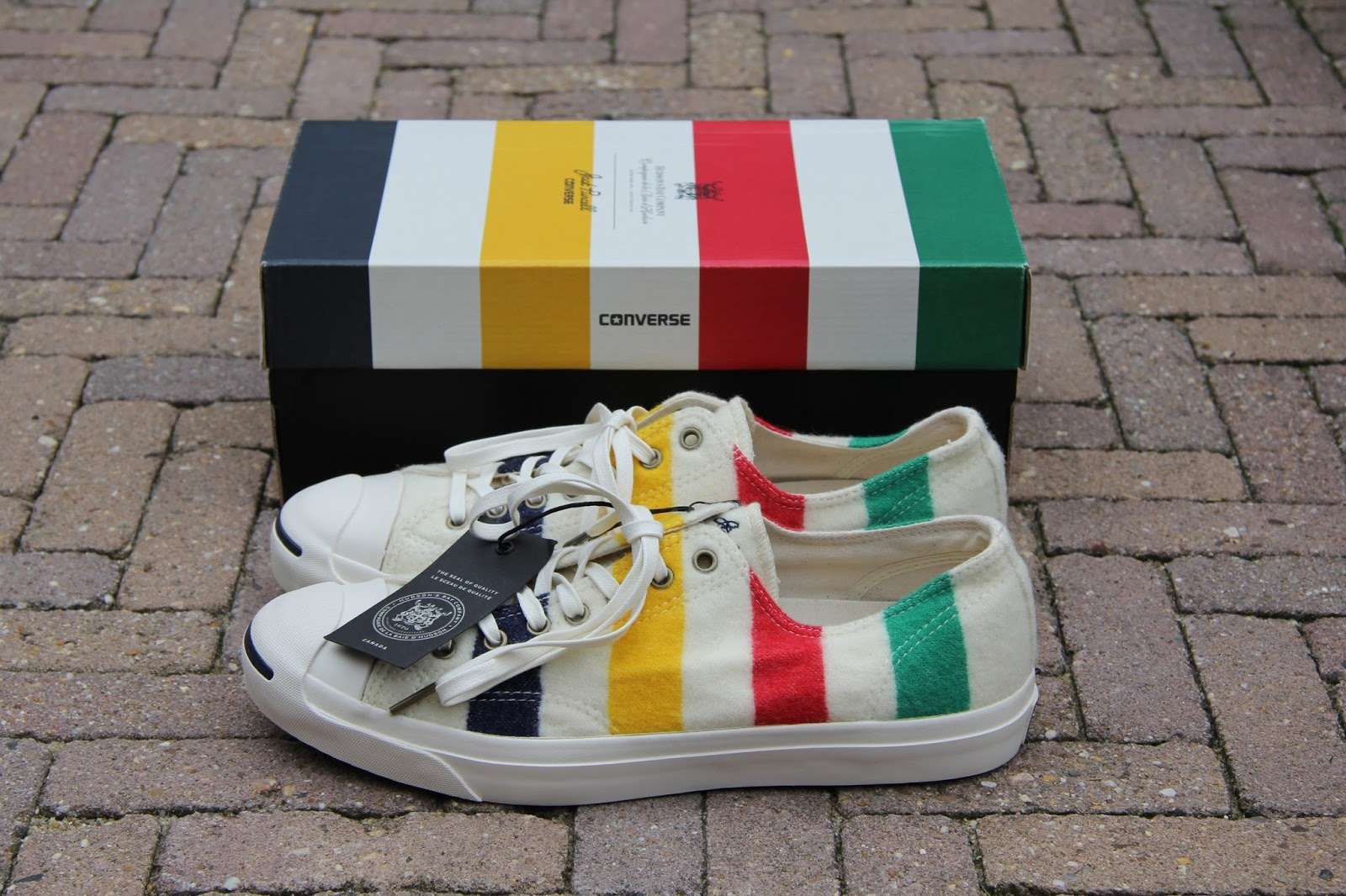 3cb592536bf9 ... HUDSON BAY CO. Jack Purcell s are also know as the sneaker with a  smile. This time it s a warm smile