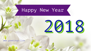Cool new year greeting