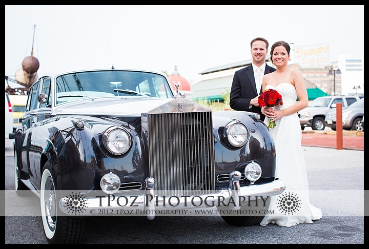 Baltimore Classic Vintage Car Wedding Bentley
