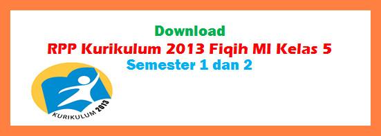 Rpp Fiqih Mi K 2013 Kelas 5 Semester 1 Dan 2
