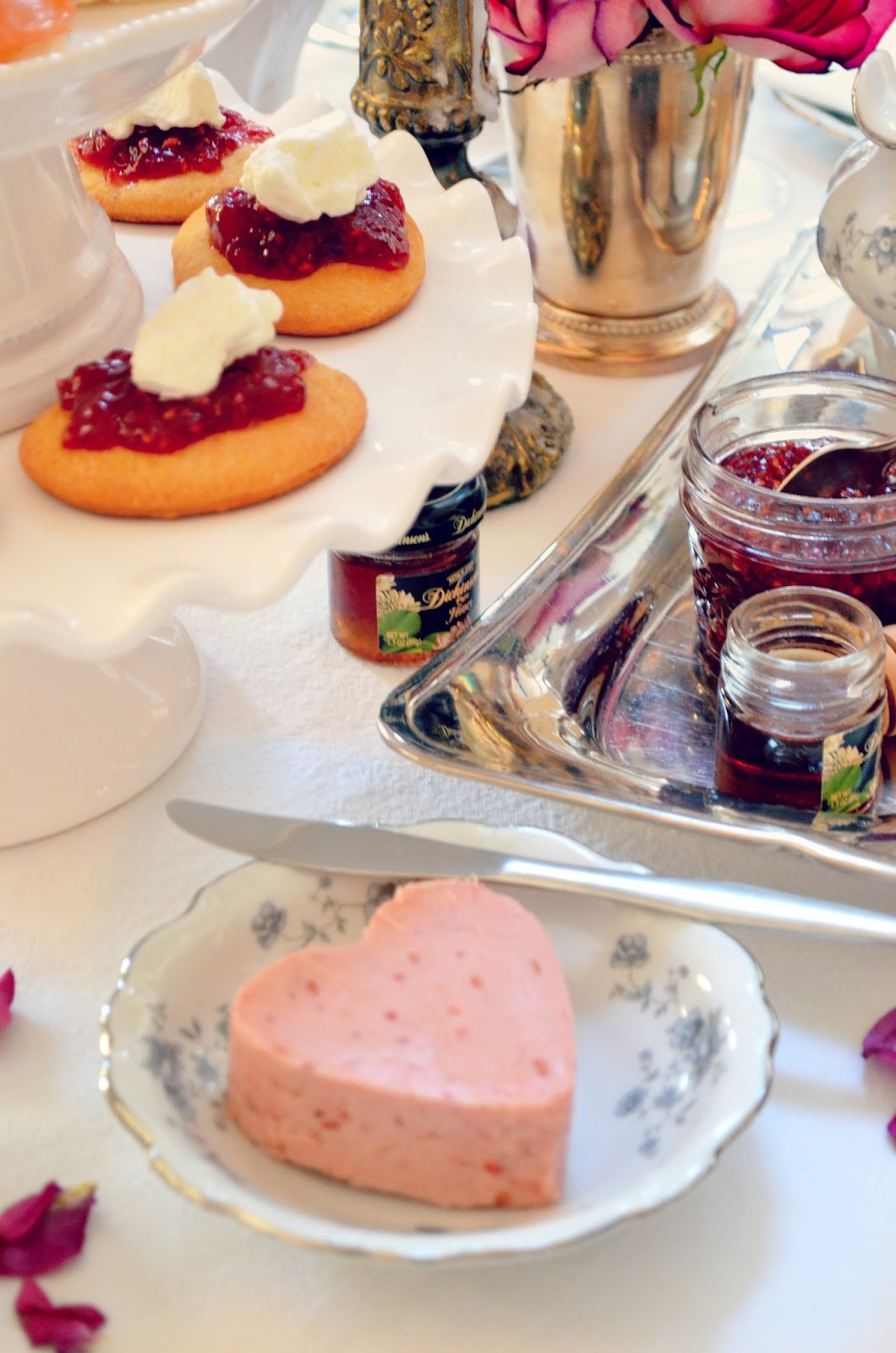 Oscars2016 Champagne Afternoon High Tea Raspberry Butter Recipe