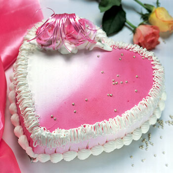 How To Decorate A Heart Shaped Cake