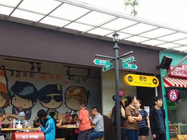 restoran dan cafe di Kampung Korea