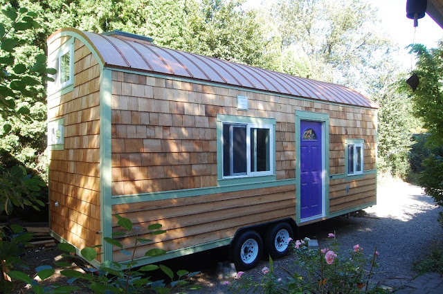 the Lilypad tiny house
