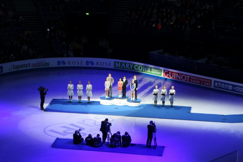 medal ceremony pairs