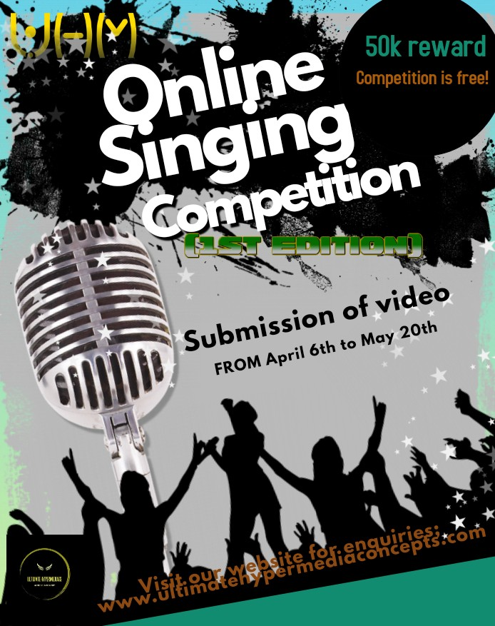 UHM Online Singing Contest (1st Edition), 2019 - ULTIMATE HYPERMEDIASS