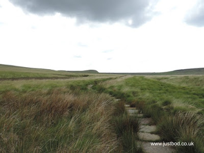 Packhorse route 'Rapes Highway,' Marsden Moor, Yorkshire