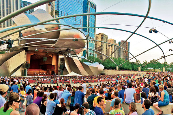 Festival Downtown Sound em Chicago
