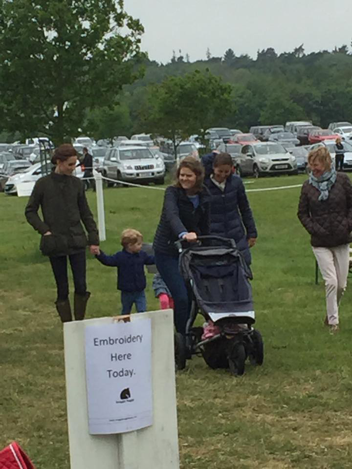 Kate Takes George Amp Charlotte To Houghton Horse Trials