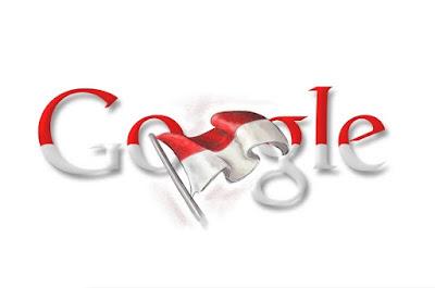 Google Doodle HUT RI 2009