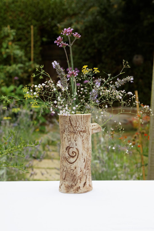 Cat S Ceramics Tree Trunk Vase