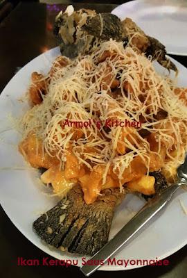 Ikan Kerapu Saus Mayonnaise