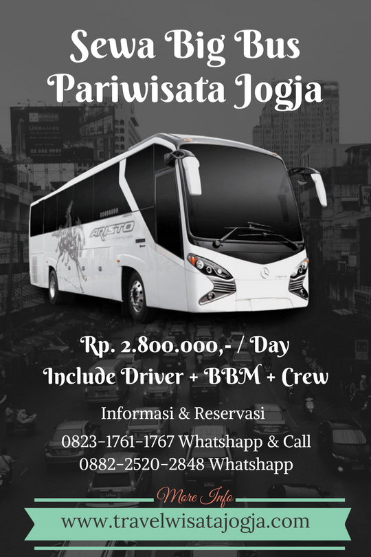 Sewa Big Bus Pariwisata di Yogyakarta