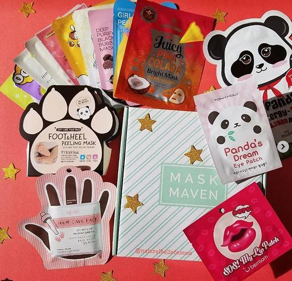Beauteque premium mask box