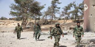 Syrian Army Advancing towards Idlib
