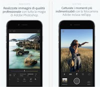 Adobe Photoshop Lightroom gratis per Android e iPhone
