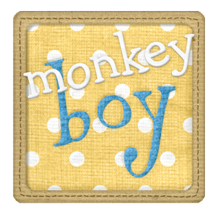 Borders and Frames of the Monkeys and Bananas Clip Art.