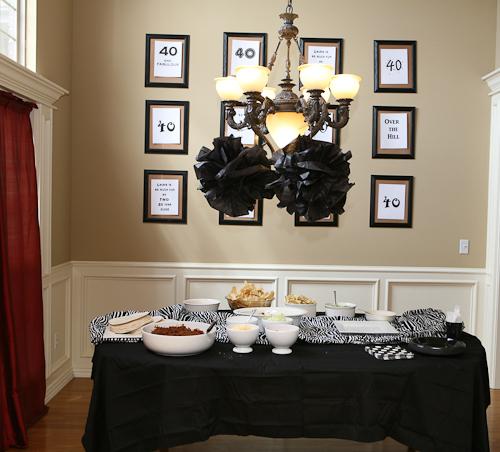 Nursery Décor For The Grown Ups: Kelly's Korner: Grown Up Birthday Party Ideas