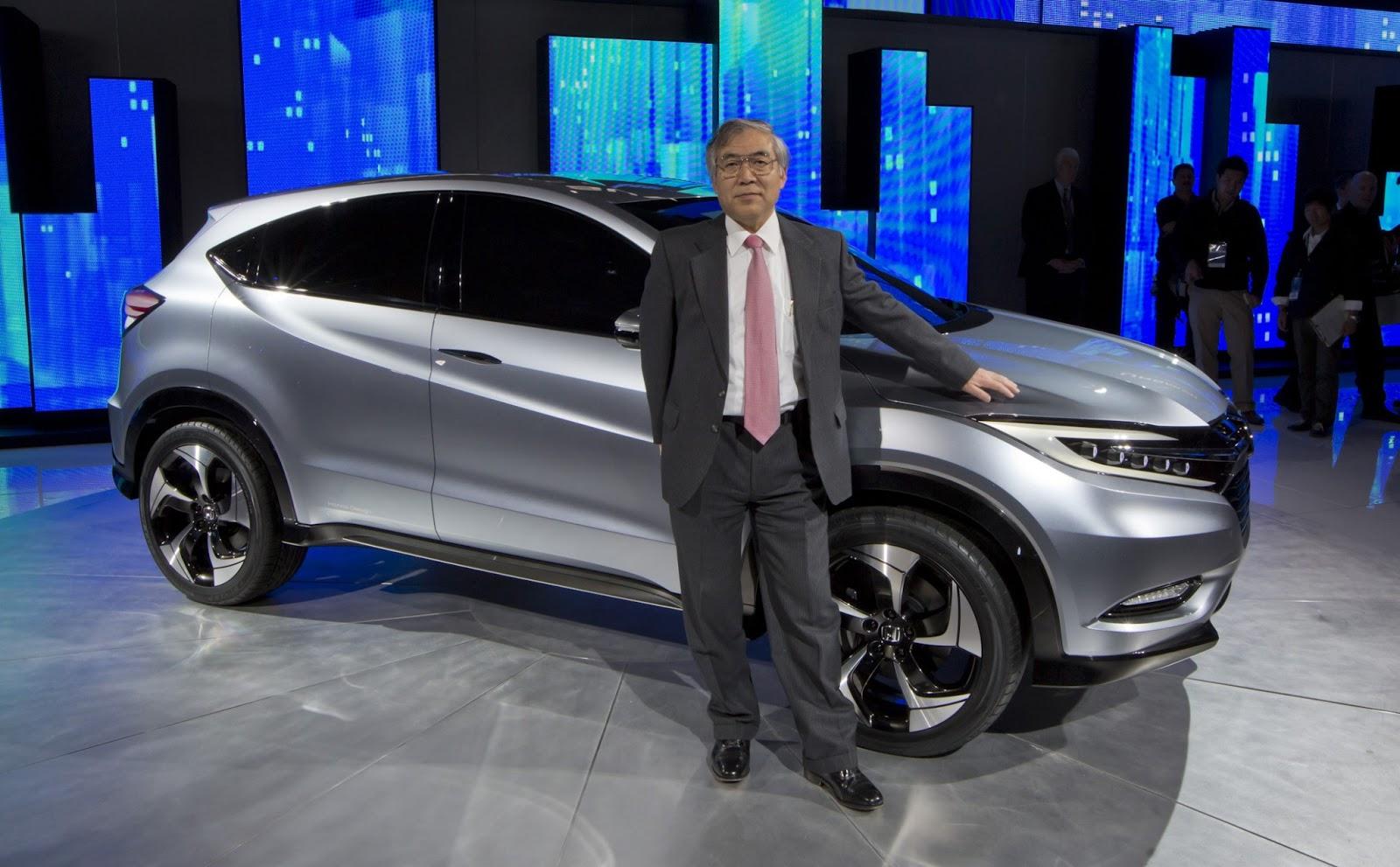 "Honda Pilot Models >> Honda ""Urban SUV Concept"" 2013 North American International Auto Show   New Honda Model"