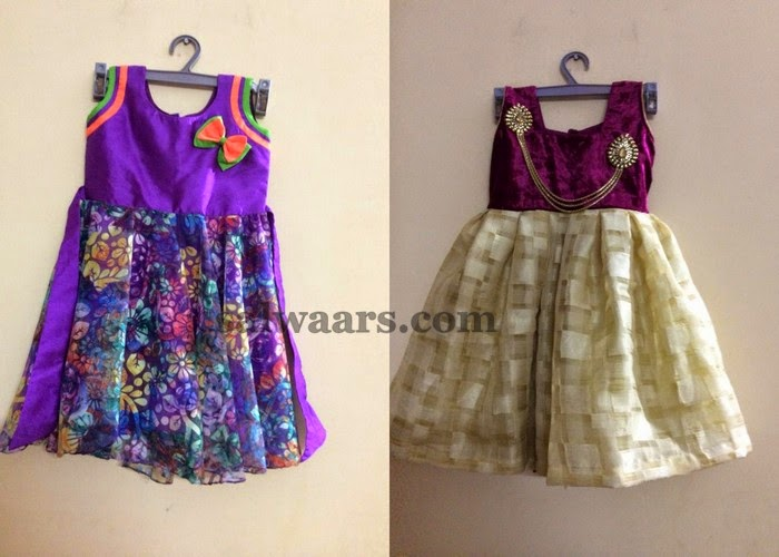 0d7dc6cdc Pretty Kids Frocks Gallery - Indian Dresses