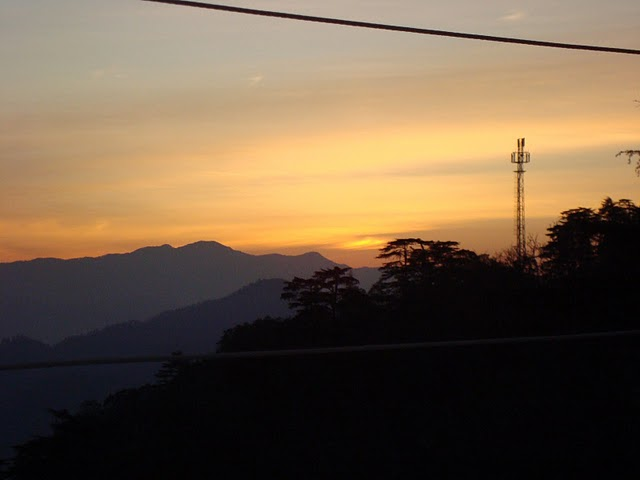 sunrise in chakrata