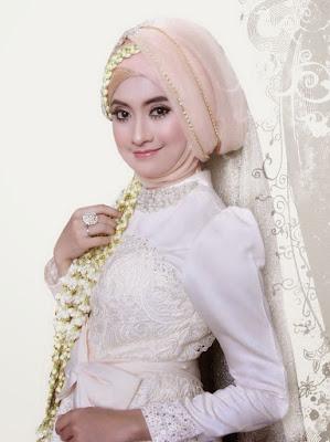 Kreasi Hijab Pengantin Muslim Modern Terbaru
