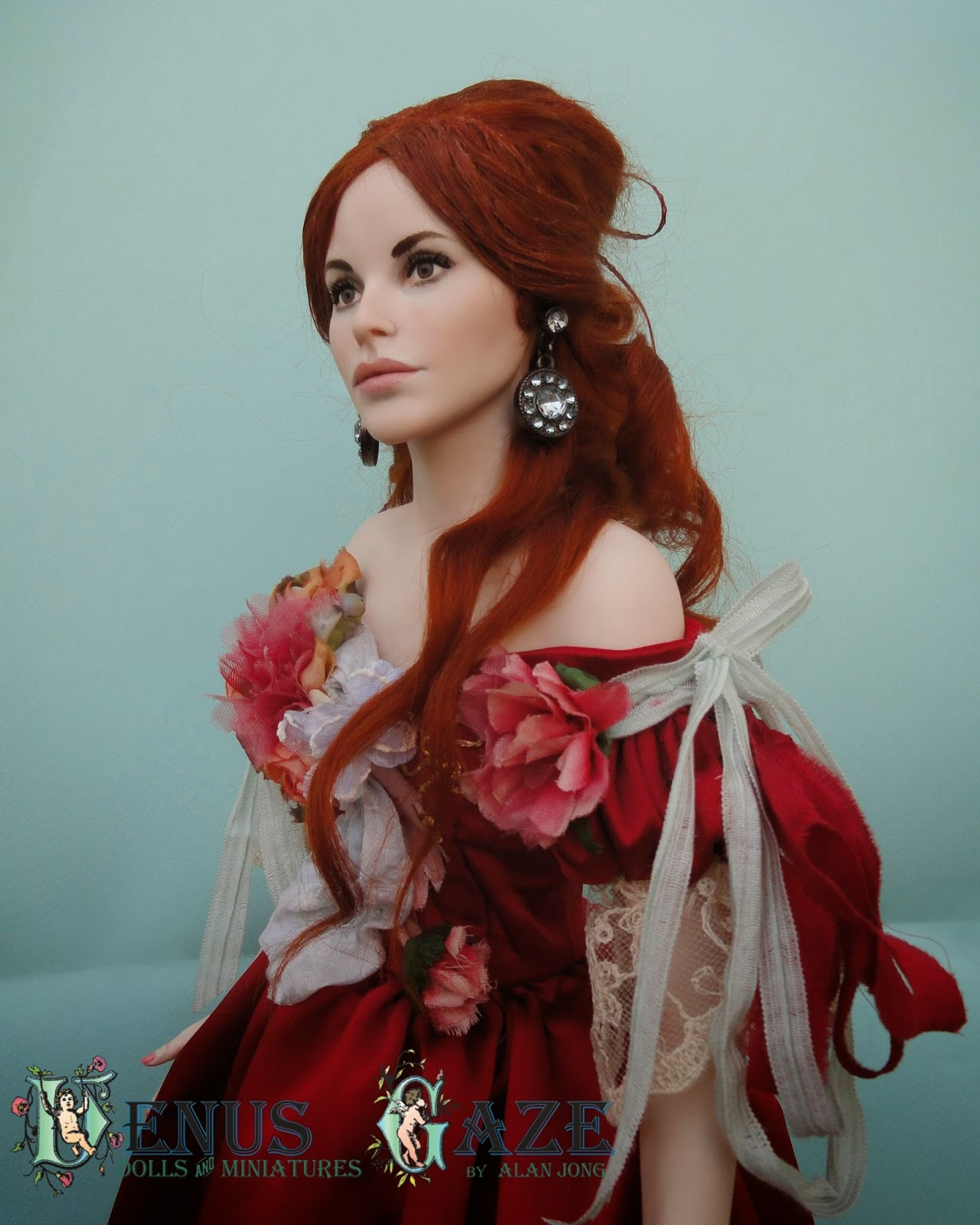 Venus Gaze Miniature Doll Art: Creative Comfort Zones ...