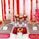 Sweet table Saint-Valentin
