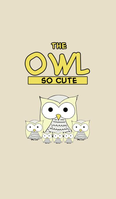 The Owl So Cute