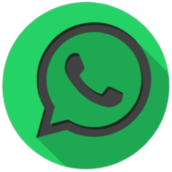 whatsapp colorful button